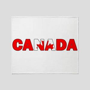Canada 001 Throw Blanket