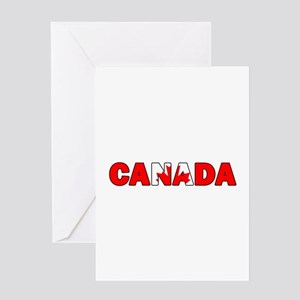 Canada 001 Greeting Cards
