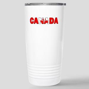 Canada 001 Stainless Steel Travel Mug