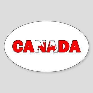 Canada 001 Sticker