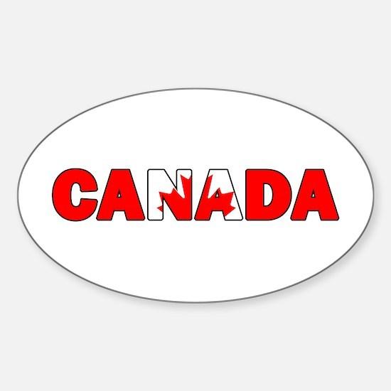 Canada 001 Decal