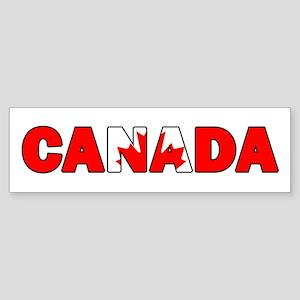 Canada 001 Bumper Sticker