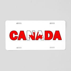 Canada 001 Aluminum License Plate