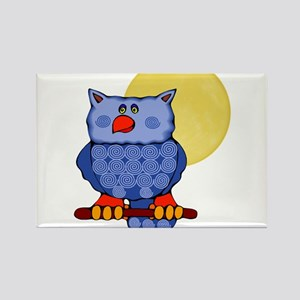 Once in a Blue Moon Owl Magnets