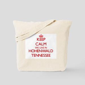 Keep calm we live in Hohenwald Tennessee Tote Bag