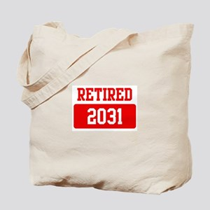 Retired 2031 (red) Tote Bag