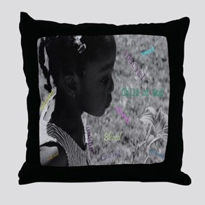 Child Of God Throw Pillow