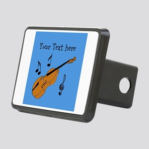 Customizable Violin Design Hitch Cover