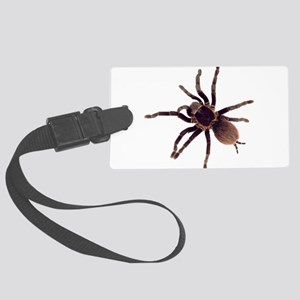 Hairy Brown Tarantula Large Luggage Tag