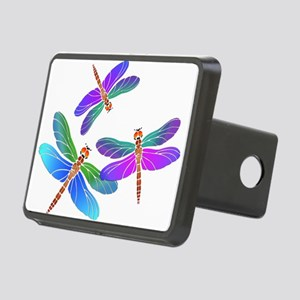 Dive Bombing Iridescent Dr Rectangular Hitch Cover
