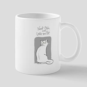 Keep Calm-White Mugs