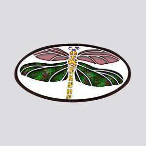 sTAINED gLASS Dragonfly Patches