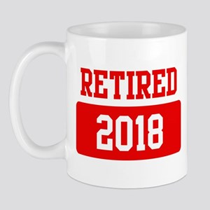 Retired 2018 (red) Mug