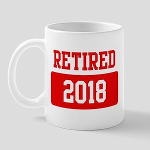 Retired 2018 (red) Mug