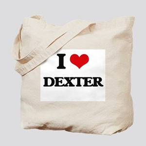 I Love Dexter Tote Bag