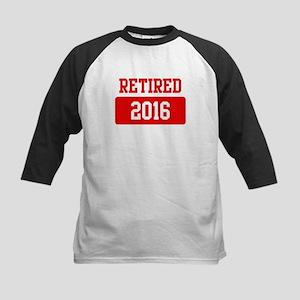 Retired 2016 (red) Kids Baseball Jersey