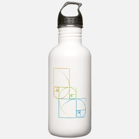 Fibonacci Water Bottle