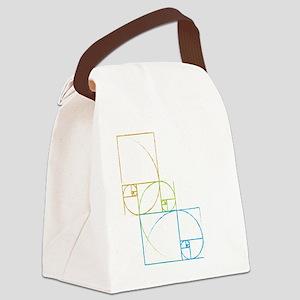Fibonacci Canvas Lunch Bag