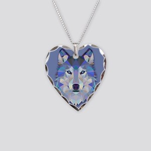 Triangle Wolf Necklace