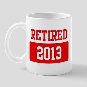 Retired 2013 (red) Mug