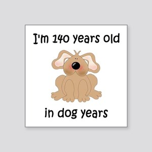 20 dog years 5 - 2 Sticker