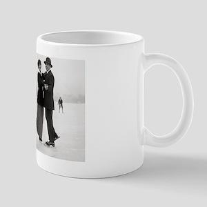 Ice Skating Couples, 1915 Mug