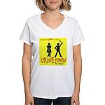 Urinetown Women's V-Neck T-Shirt