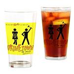 Urinetown Drinking Glass