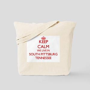 Keep calm we live in South Pittsburg Tenn Tote Bag