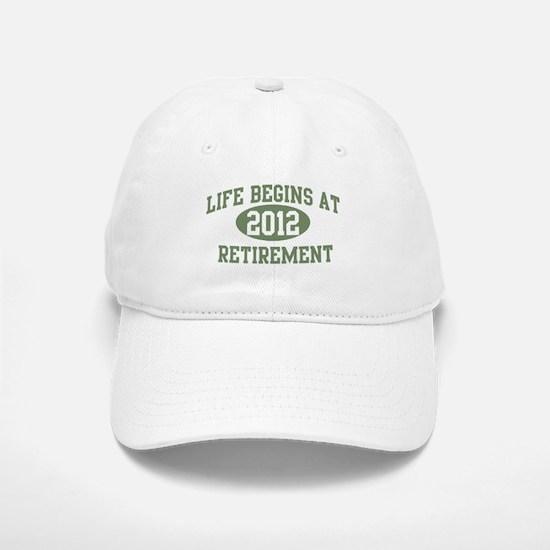 Life begins 2012 Baseball Baseball Cap