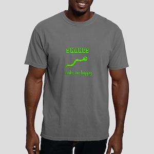 Snakes Make Me Happy T-Shirt