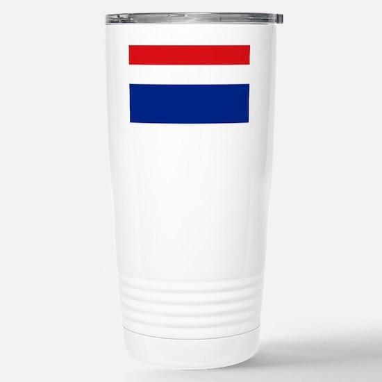 Armenian flag Stainless Steel Travel Mug