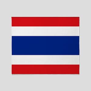 Armenian flag Throw Blanket