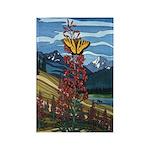 Butterfly Rectangle Magnet 100 pack Landscape Art