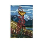 Butterfly Rectangle Magnet 100 pack Landscape Art