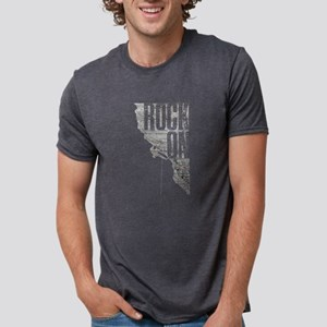 Rock On - Rock Climbing Graphic Tee T-Shirt