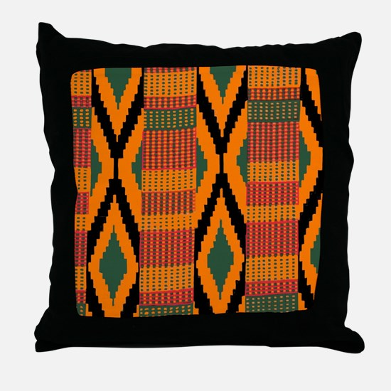 Funny Africa Throw Pillow