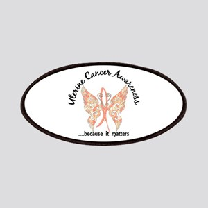 Uterine Cancer Butterfly 6.1 Patches