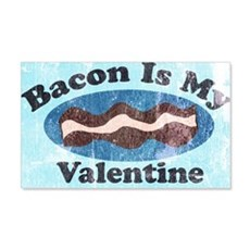 vintage Bacon is my valentine Wall Decal