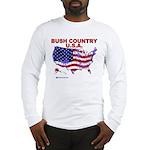 Bush Country USA (County) Long Sleeve T-Shirt
