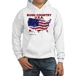 Bush Country USA (County) Hooded Sweatshirt