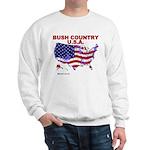 Bush Country USA (County) Sweatshirt