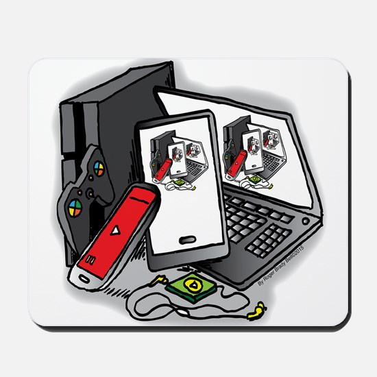 Tech Frenzy 2015 Mousepad