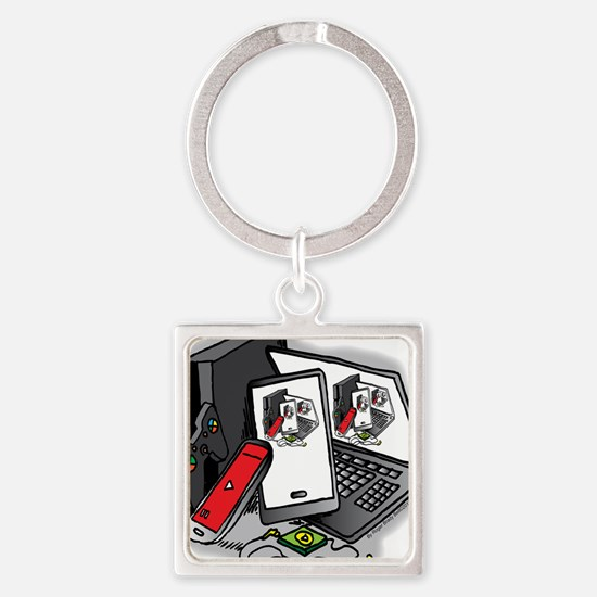 Tech Frenzy 2015 Keychains
