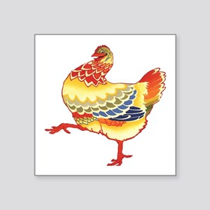 Vintage Chicken Sticker
