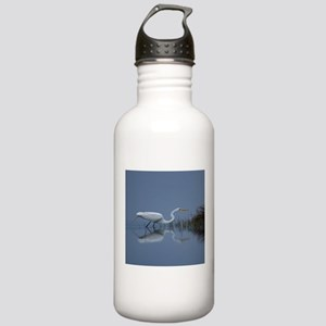 great white egret Stainless Water Bottle 1.0L