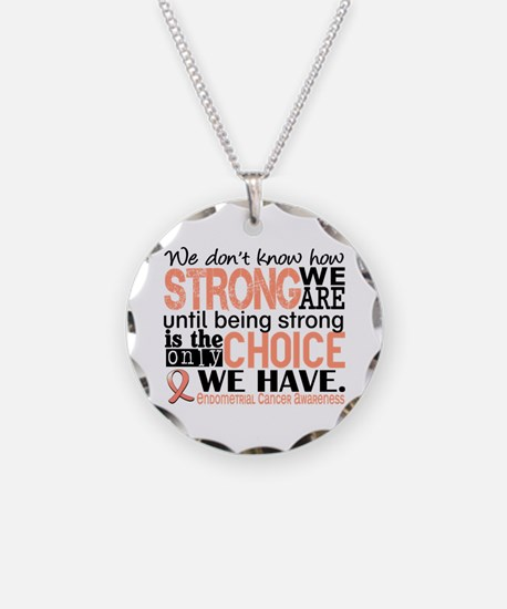 Endometrial Cancer HowStrong Necklace