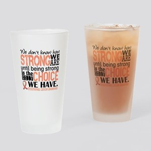 Endometrial Cancer HowStrongWeAre Drinking Glass