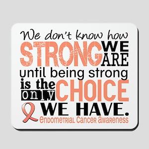 Endometrial Cancer HowStrongWeAre Mousepad