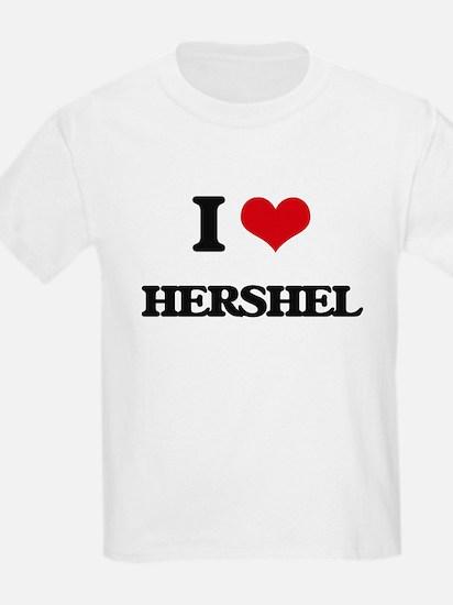 I Love Hershel T-Shirt